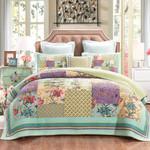 Patchwork Bedspread Botanical MMC03122626 Bedding Set