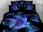 Blue Hummingbird DAC031257 Bedding Set