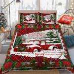 Red Truck Christmas DAC031222 Bedding Set