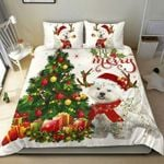 Westies Gorgous Reindeer Christmas DAC03127 Bedding Set