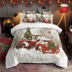 Red Truck Christmas DAC031223 Bedding Set