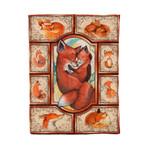 Red Fox MMC0412129 Fleece Blanket