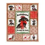 Dachshund MMC041270 Fleece Blanket