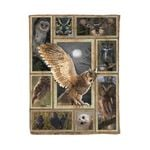 Owl MMC0412125 Fleece Blanket