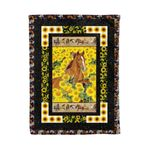 Horse MMC0412108 Fleece Blanket