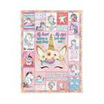 Unicorn MMC0412136 Fleece Blanket