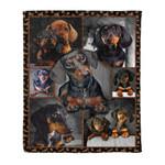 Dachshund MMC041282 Fleece Blanket