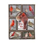 Cardinal MMC041259 Fleece Blanket