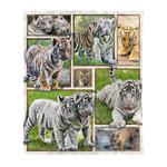 Baby Tiger MMC041243 Fleece Blanket