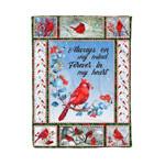 Cardinal MMC041264 Fleece Blanket