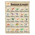 Dinosaur MMC041290 Fleece Blanket
