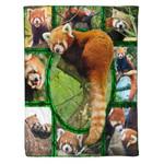Red panda MMC0412130 Fleece Blanket