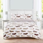 Dachshund MMC041228 Bedding Set