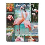 Flamingo MMC041296 Fleece Blanket