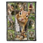 Squirrel MMC0412135 Fleece Blanket