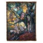 Owl MMC0412126 Fleece Blanket
