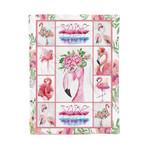 Flamingo MMC041298 Fleece Blanket