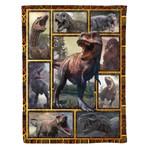 Dinosaur MMC041284 Fleece Blanket