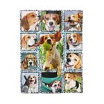 Beagle Dogs MMC041244 Fleece Blanket
