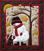 Christmas Snowman DTC0412628 Quilt Blanket