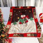 Christmas Snowman DTC0412740 Fleece Blanket