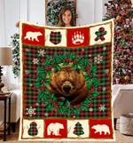 Bear Classic Yarn Syed Tartan Plaid DTC0412755 Fleece Blanket