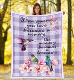 Hummingbird DTC0412719 Fleece Blanket