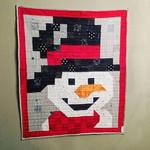 Smiling Snowman DTC0412610 Quilt Blanket