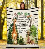 Giraffe DTC0412723 Fleece Blanket
