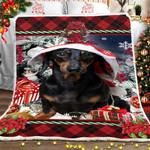 Dachshund Christmas DTC0412733 Fleece Blanket