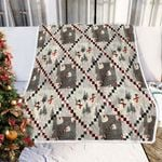 Christmas Snowman DTC0412739 Fleece Blanket