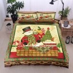 Cake Candy Snowman Christmas DTC0412830 Bedding Set