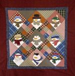 Christmas Snowman DTC0412636 Quilt Blanket