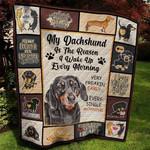 Dachshund DTC0412622 Quilt Blanket