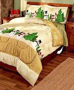 Christmas Snowman DTC0412813 Bedding Set