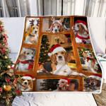 Beagle Christmas DTC0412758 Fleece Blanket