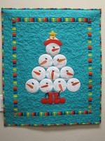 Christmas Snowman DTC0412633 Quilt Blanket