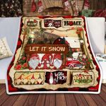 Gnomes Christmas DTC0412721 Fleece Blanket