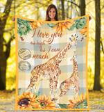 Giraffe DTC0412722 Fleece Blanket