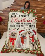 Chihuahua Way to spread DTC0412744 Fleece Blanket