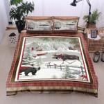 Animals Christmas DTC0412761 Fleece Blanket