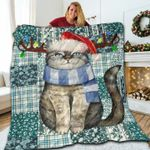 Cat Christmas DTC0412653 Quilt Blanket