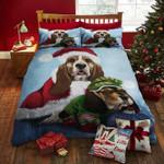 Basset Hound Christmas DTC0412832 Bedding Set