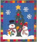 Christmas Snowman DTC0412639 Quilt Blanket