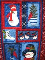 Christmas Snowman DTC0412638 Quilt Blanket
