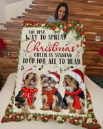Yorkshire Way to spread DTC0412701 Fleece Blanket