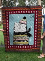 Cat DTC0412656 Quilt Blanket