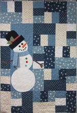Christmas Snowman DTC0412629 Quilt Blanket