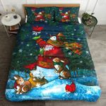 Snowman Cardinal DTC0412802 Bedding Set