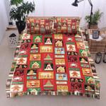 Candy Heart Snowman Christmas DTC0412829 Bedding Set